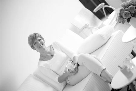 Anke Henning in ihrem Beratungsraum